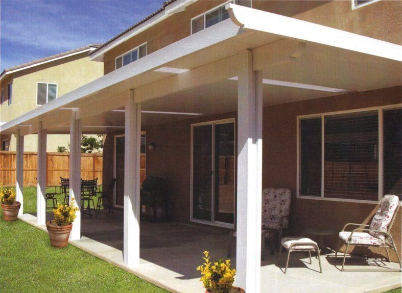 Patio cover gallery showtime vinyl fence
